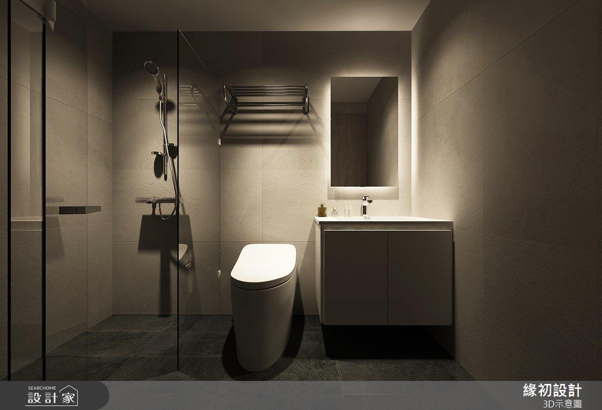 23坪老屋(16~30年)_現代風浴室案例圖片_緣初設計 SERENDIPITY DESIGN_緣初_02之7