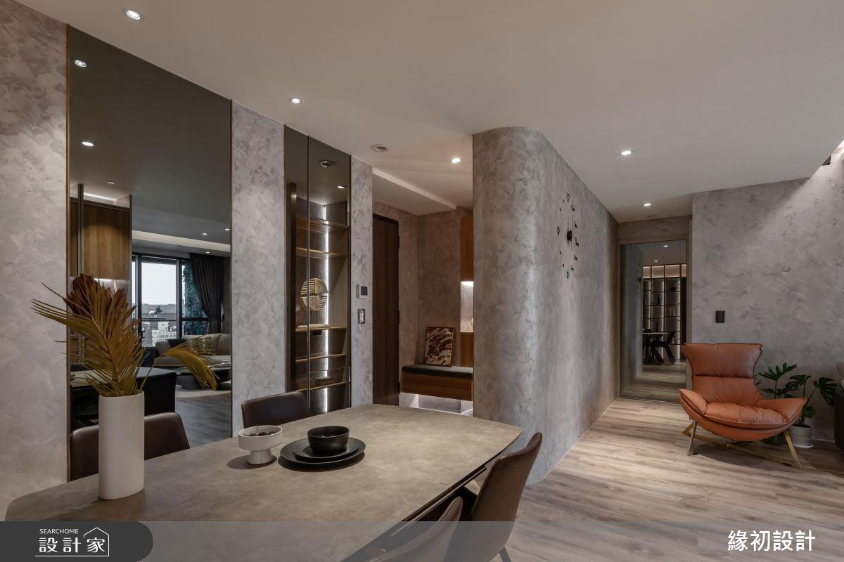 32坪新成屋(5年以下)_現代風案例圖片_緣初室內設計_緣初_09之2
