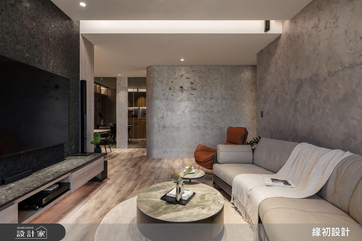 32坪新成屋(5年以下)_現代風案例圖片_緣初室內設計_緣初_09之3