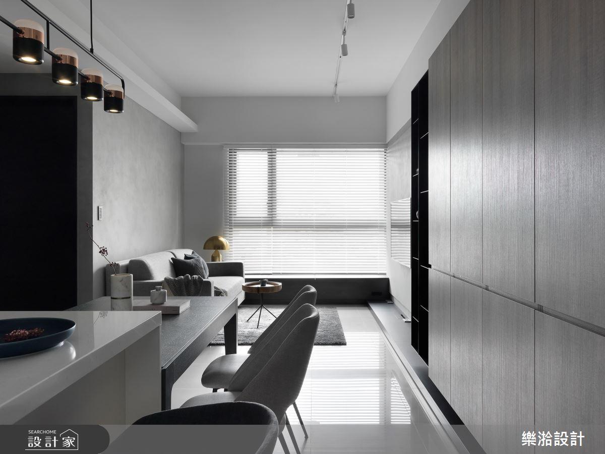 19坪中古屋(5~15年)_現代風餐廳案例圖片_樂湁設計_樂湁_03之2