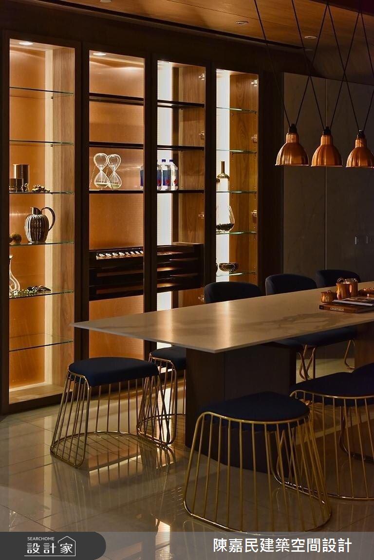 95坪新成屋(5年以下)_奢華風餐廳案例圖片_陳嘉民建築空間設計_陳嘉民_01之10