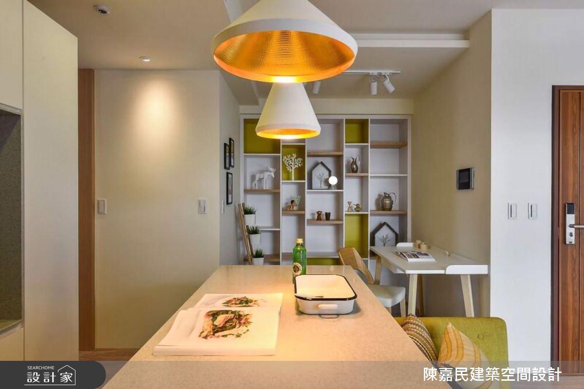 35坪新成屋(5年以下)_北歐風餐廳案例圖片_陳嘉民建築空間設計_陳嘉民_12之4