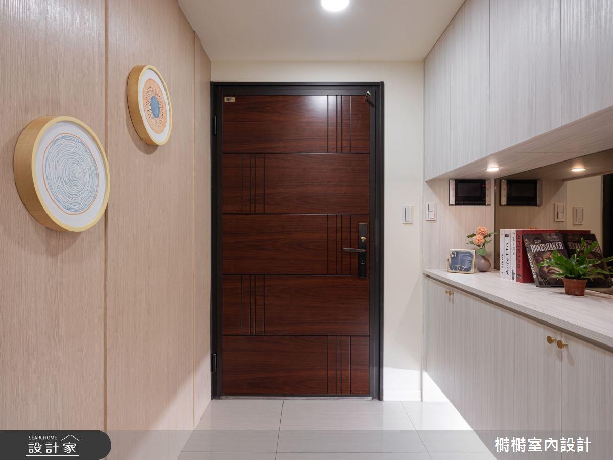 新成屋(5年以下)_混搭風玄關案例圖片_榯榯創作空間設計有限公司_榯榯_03之2