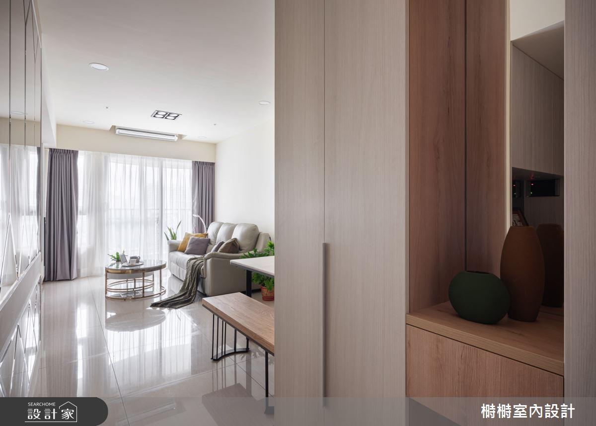 新成屋(5年以下)_混搭風玄關案例圖片_榯榯創作空間設計有限公司_榯榯_03之4