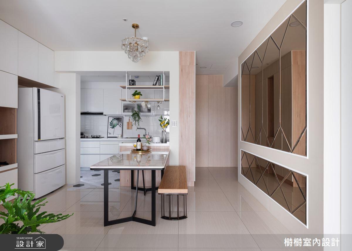 新成屋(5年以下)_混搭風餐廳案例圖片_榯榯創作空間設計有限公司_榯榯_03之10