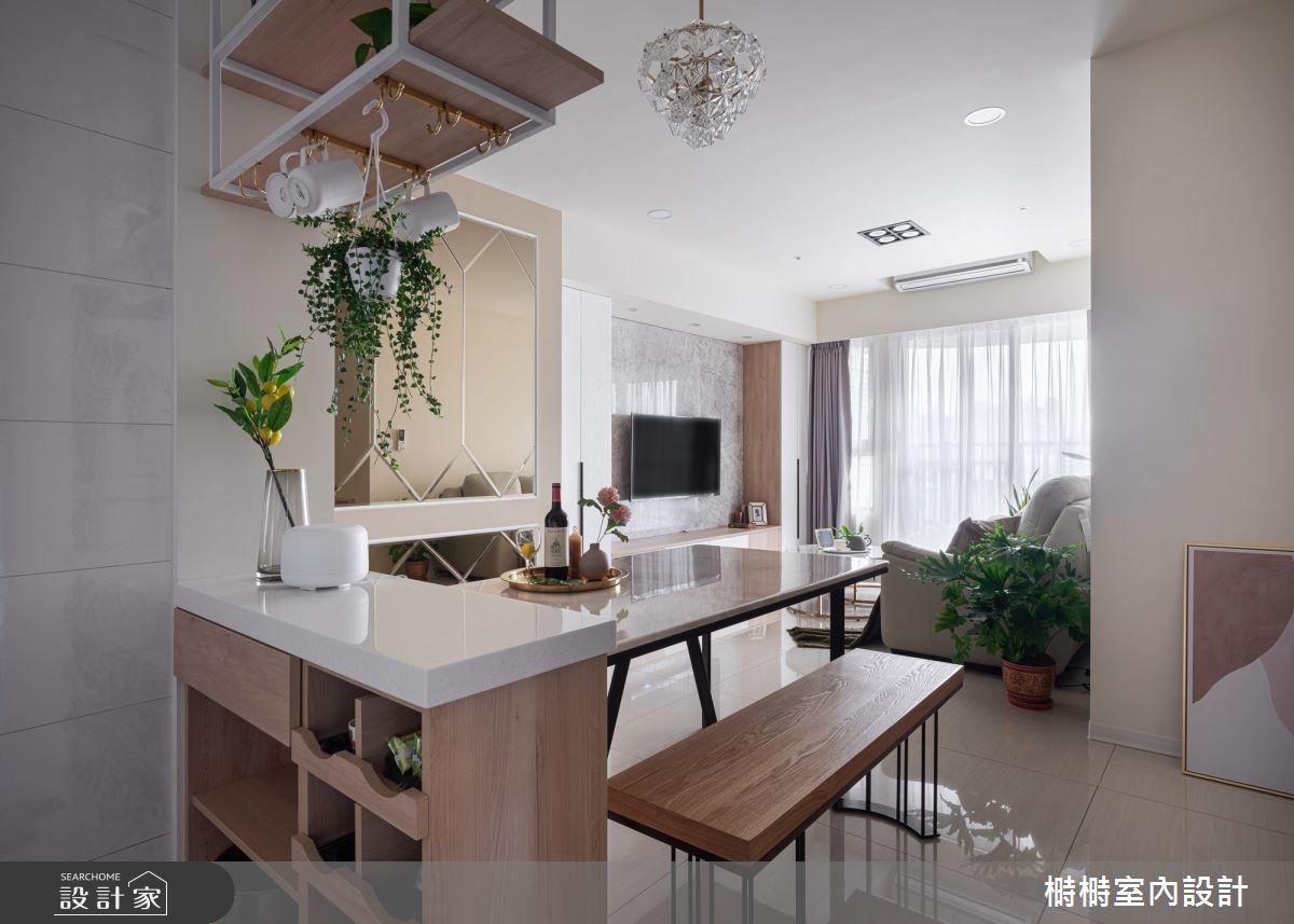 新成屋(5年以下)_混搭風餐廳吧檯案例圖片_榯榯創作空間設計有限公司_榯榯_03之14