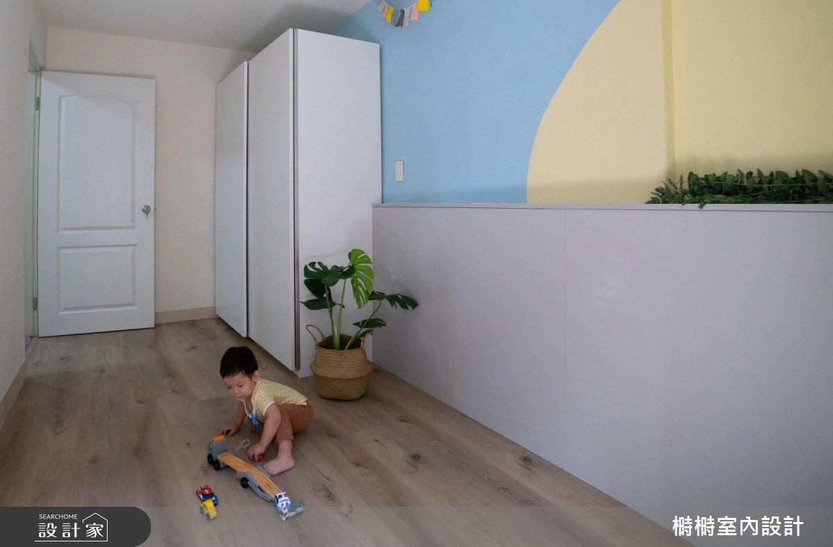 25坪老屋(41~50年)_混搭風玄關案例圖片_榯榯創作空間設計有限公司_榯榯_04之6
