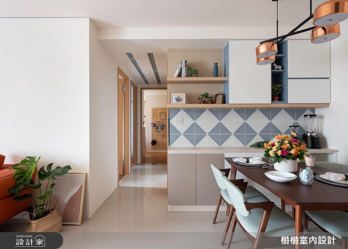 25坪中古屋(5~15年)_混搭風餐廳案例圖片_榯榯創作空間設計有限公司_榯榯_05之5
