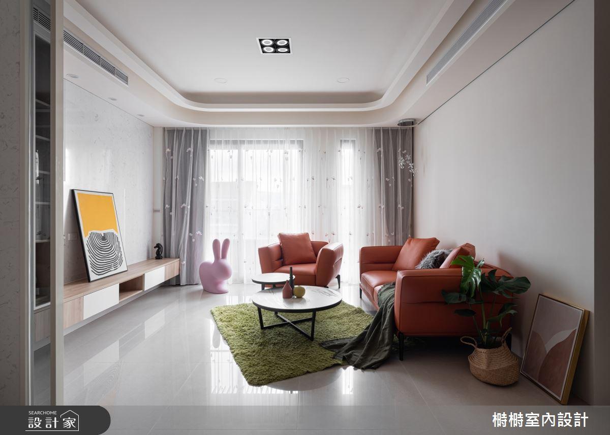 25坪中古屋(5~15年)_混搭風客廳案例圖片_榯榯創作空間設計有限公司_榯榯_05之2