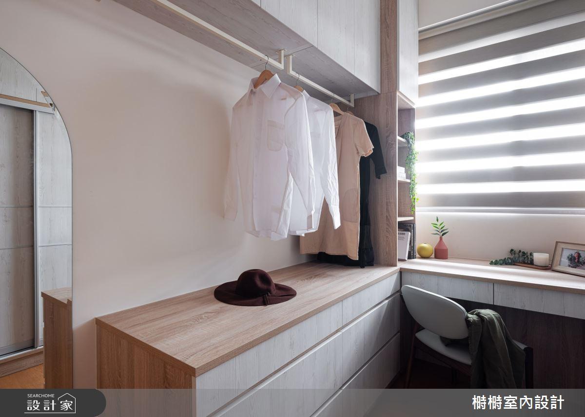 25坪中古屋(5~15年)_混搭風更衣間案例圖片_榯榯創作空間設計有限公司_榯榯_05之13