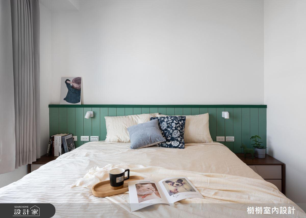 25坪新成屋(5年以下)_混搭風臥室案例圖片_榯榯創作空間設計有限公司_榯榯_07之9