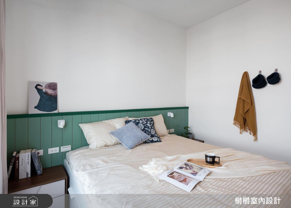 25坪新成屋(5年以下)_混搭風臥室案例圖片_榯榯創作空間設計有限公司_榯榯_07之8