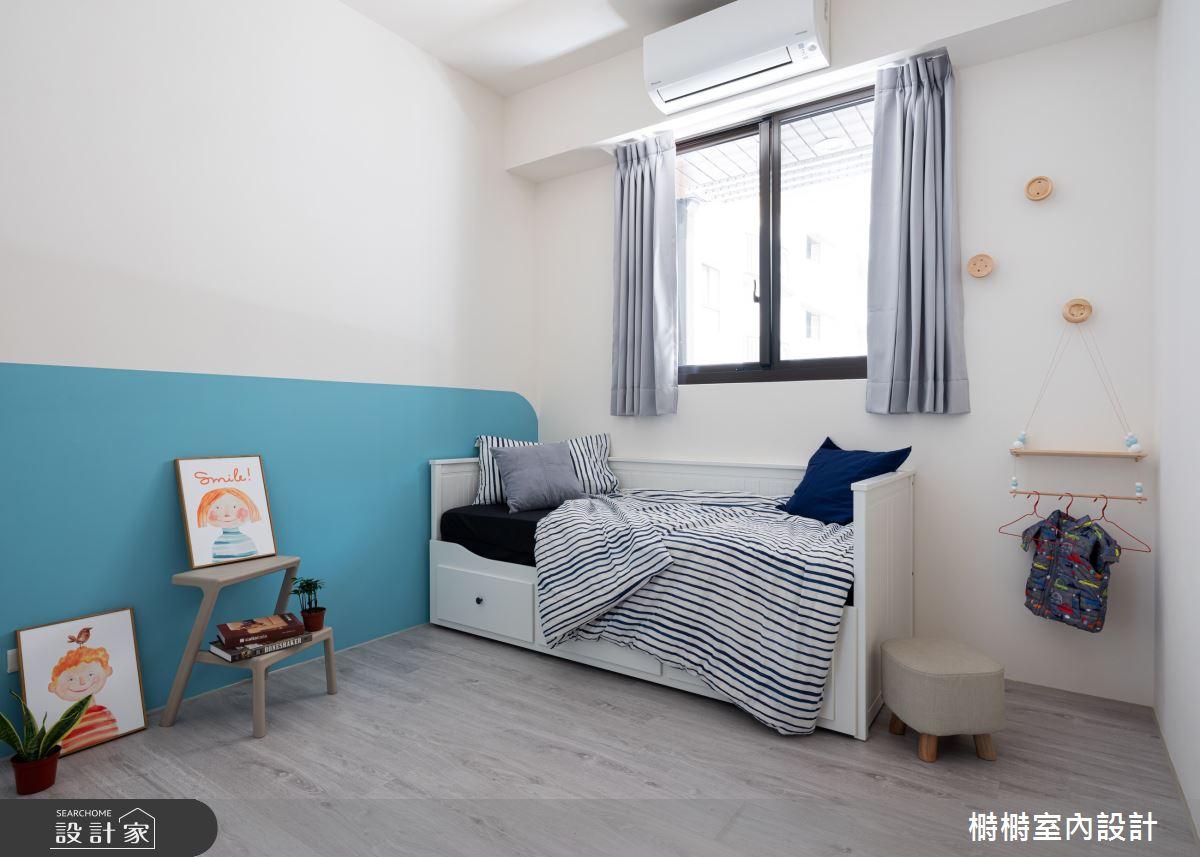 25坪新成屋(5年以下)_混搭風臥室案例圖片_榯榯創作空間設計有限公司_榯榯_07之10