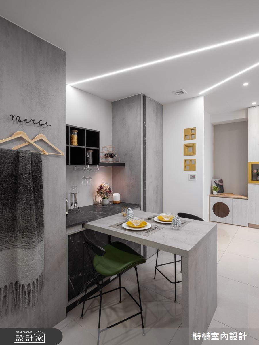 25坪新成屋(5年以下)_混搭風餐廳案例圖片_榯榯創作空間設計有限公司_榯榯_07之3