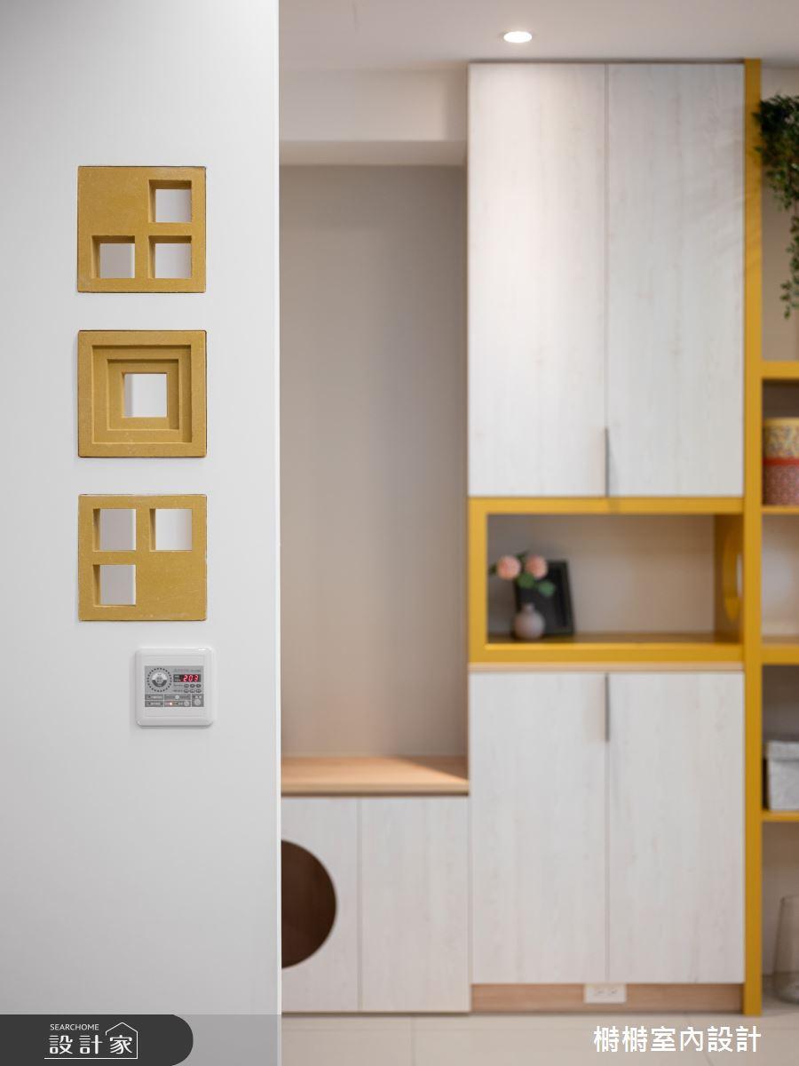 25坪新成屋(5年以下)_混搭風客廳案例圖片_榯榯創作空間設計有限公司_榯榯_07之6