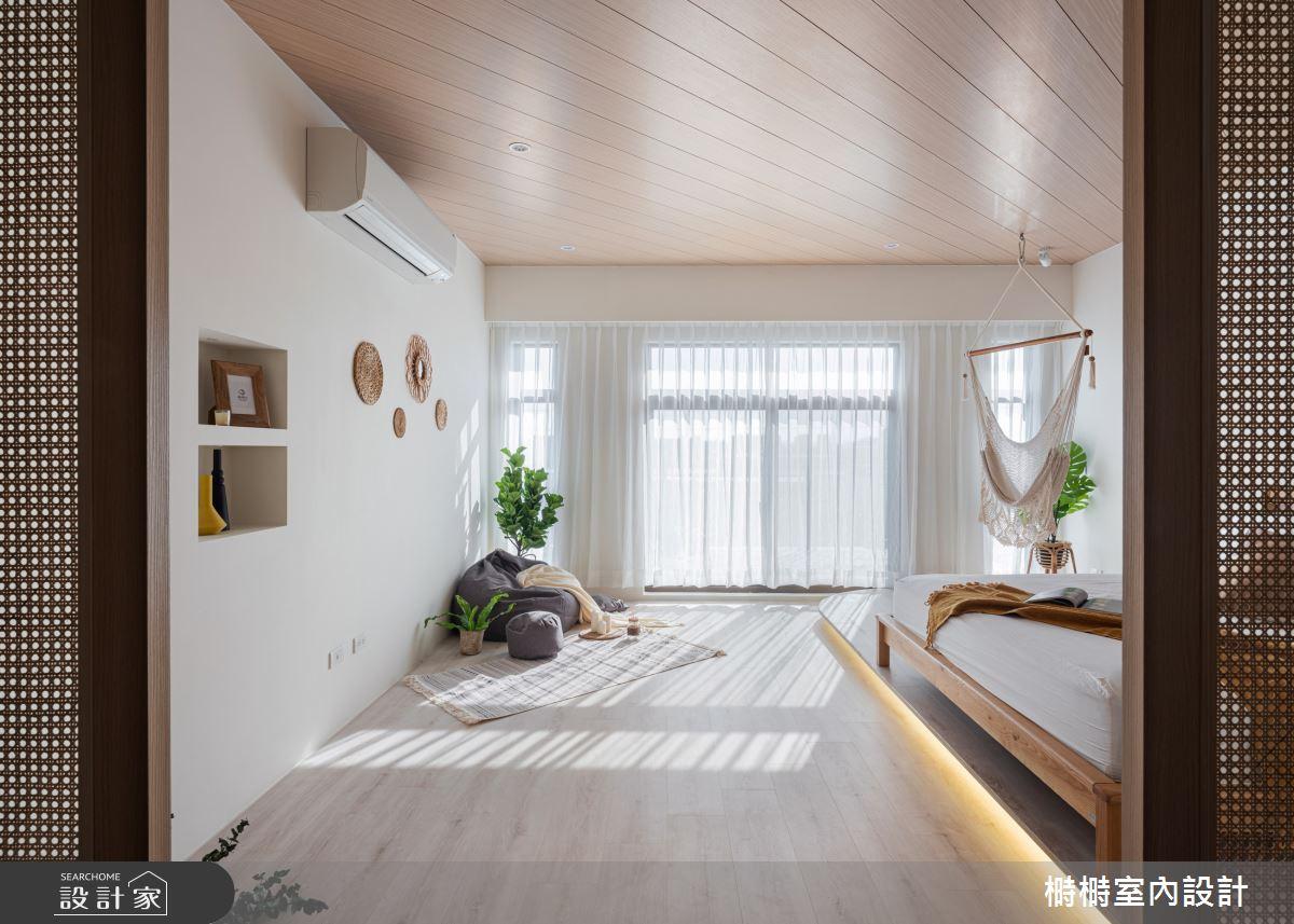 50坪新成屋(5年以下)_混搭風臥室案例圖片_榯榯創作空間設計有限公司_榯榯_08之6