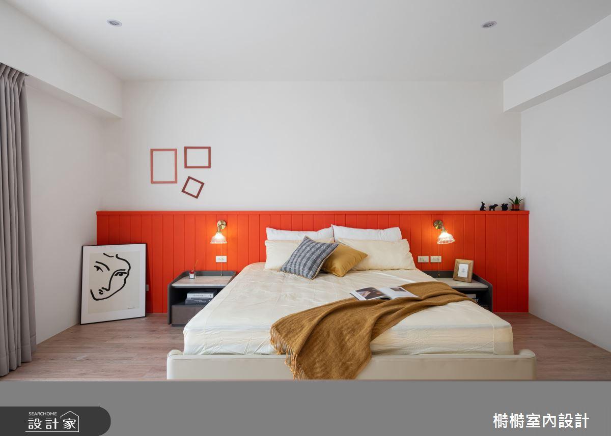 50坪新成屋(5年以下)_混搭風臥室案例圖片_榯榯創作空間設計有限公司_榯榯_08之12