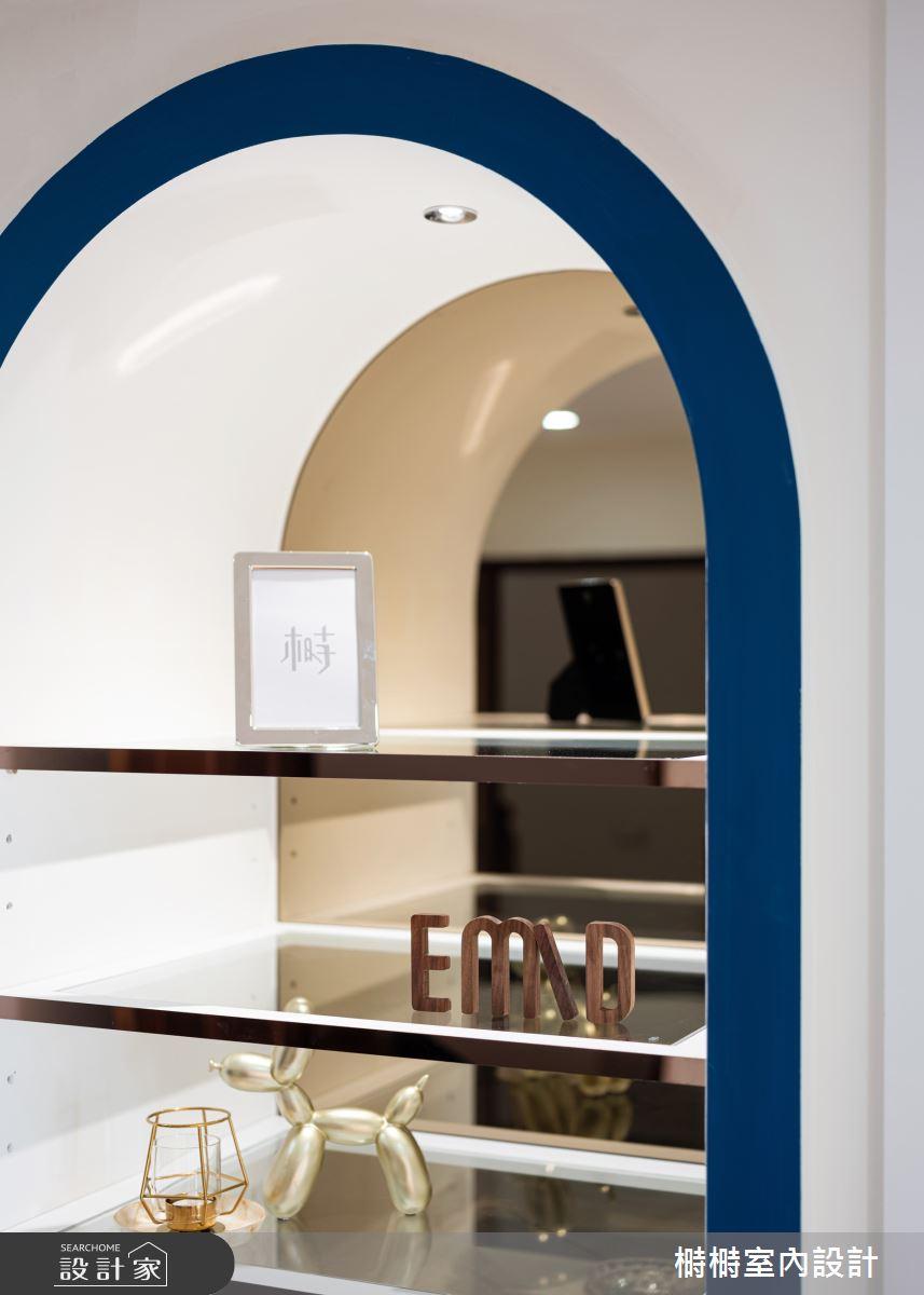 50坪新成屋(5年以下)_混搭風走廊案例圖片_榯榯創作空間設計有限公司_榯榯_08之15