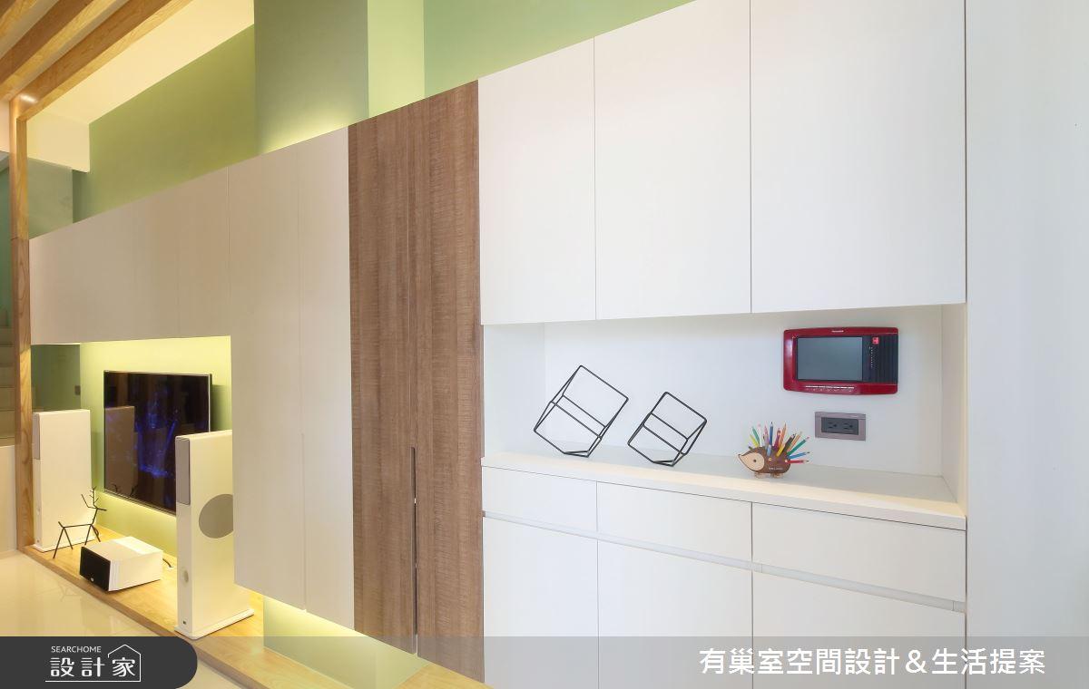 90坪新成屋(5年以下)_現代風案例圖片_有巢室空間設計_有巢室_03之2