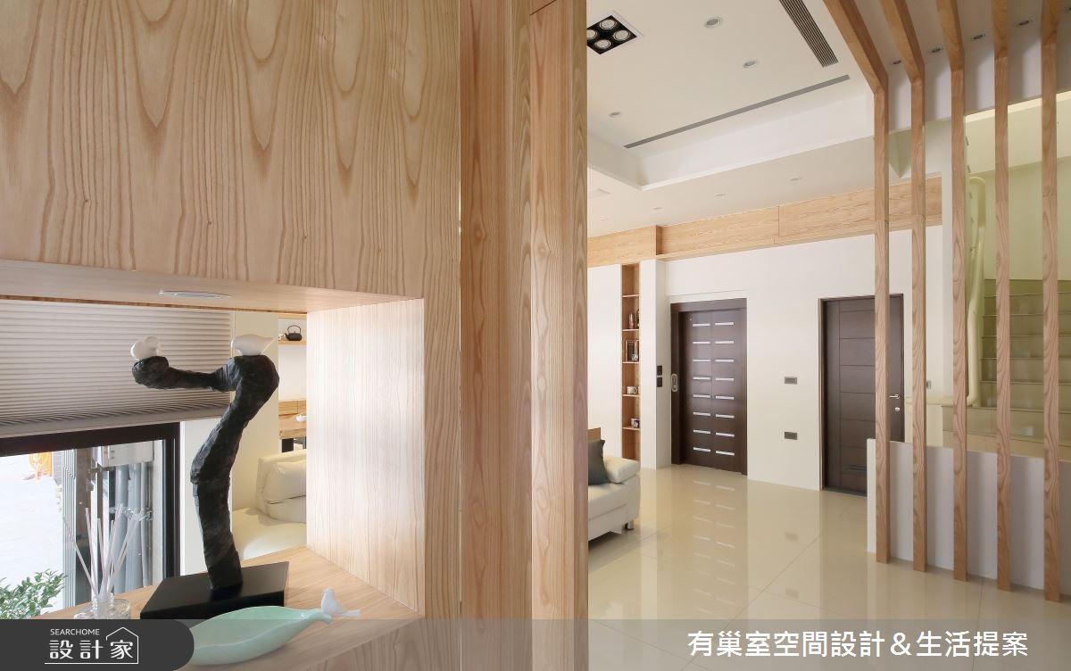 90坪新成屋(5年以下)_現代風案例圖片_有巢室空間設計_有巢室_03之3