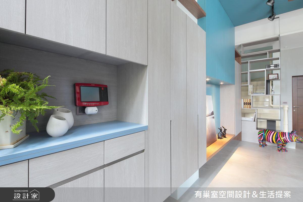 90坪新成屋(5年以下)_現代風玄關案例圖片_有巢室空間設計_有巢室_04之4