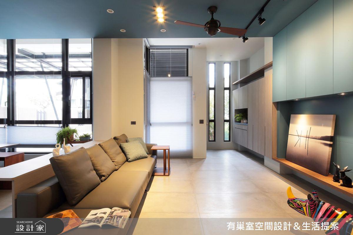 90坪新成屋(5年以下)_現代風客廳案例圖片_有巢室空間設計_有巢室_04之9
