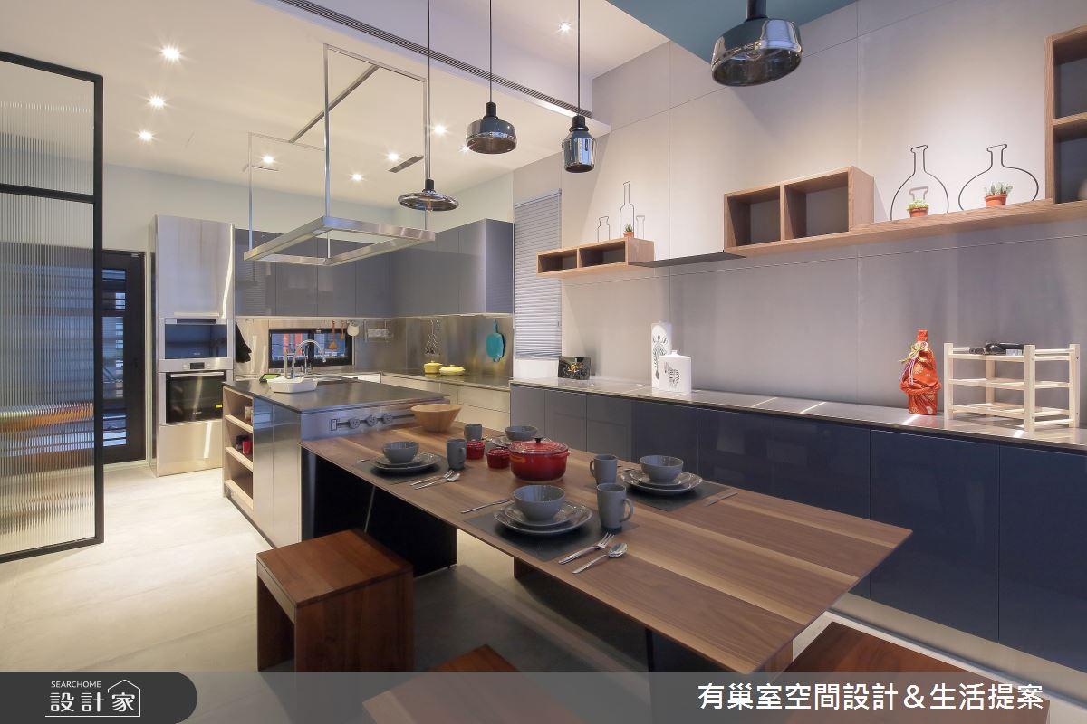 90坪新成屋(5年以下)_現代風餐廳案例圖片_有巢室空間設計_有巢室_04之16