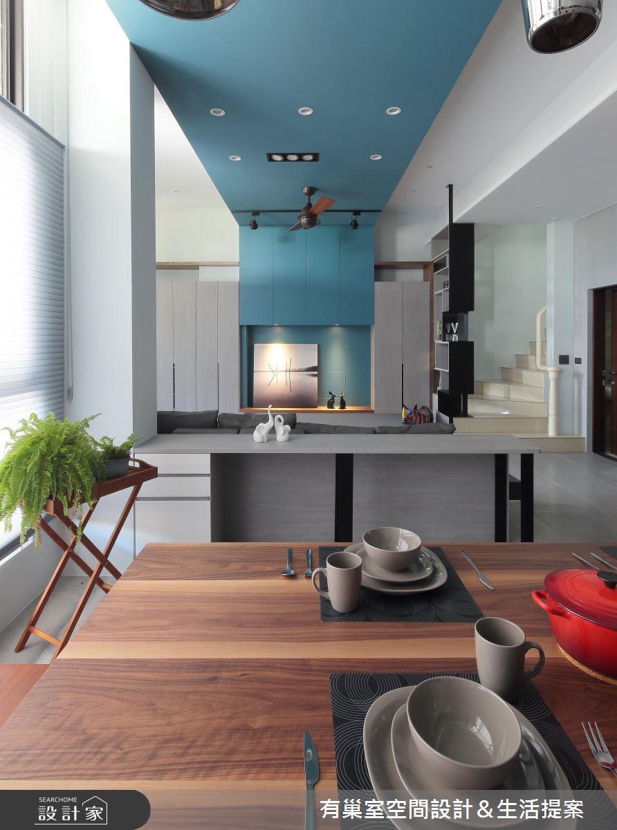 90坪新成屋(5年以下)_現代風餐廳案例圖片_有巢室空間設計_有巢室_04之8