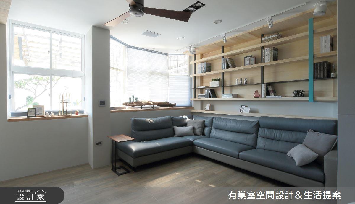 60坪老屋(16~30年)_人文禪風客廳案例圖片_有巢室空間設計_有巢室_05之2