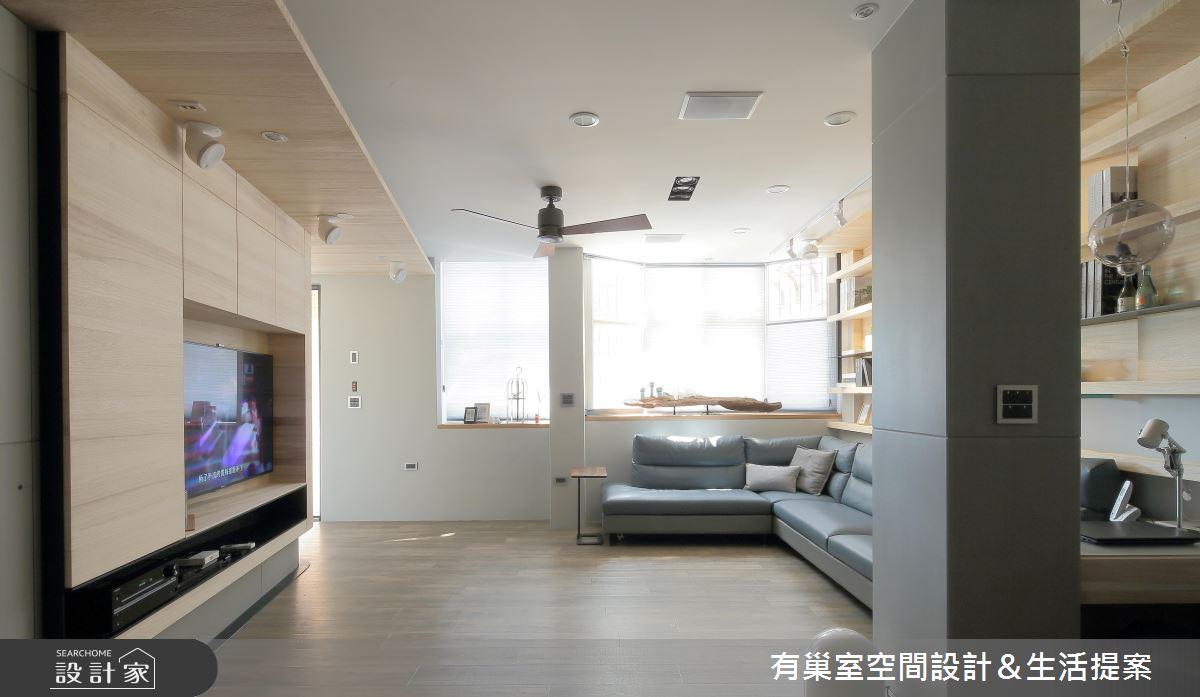 60坪老屋(16~30年)_人文禪風客廳案例圖片_有巢室空間設計_有巢室_05之3