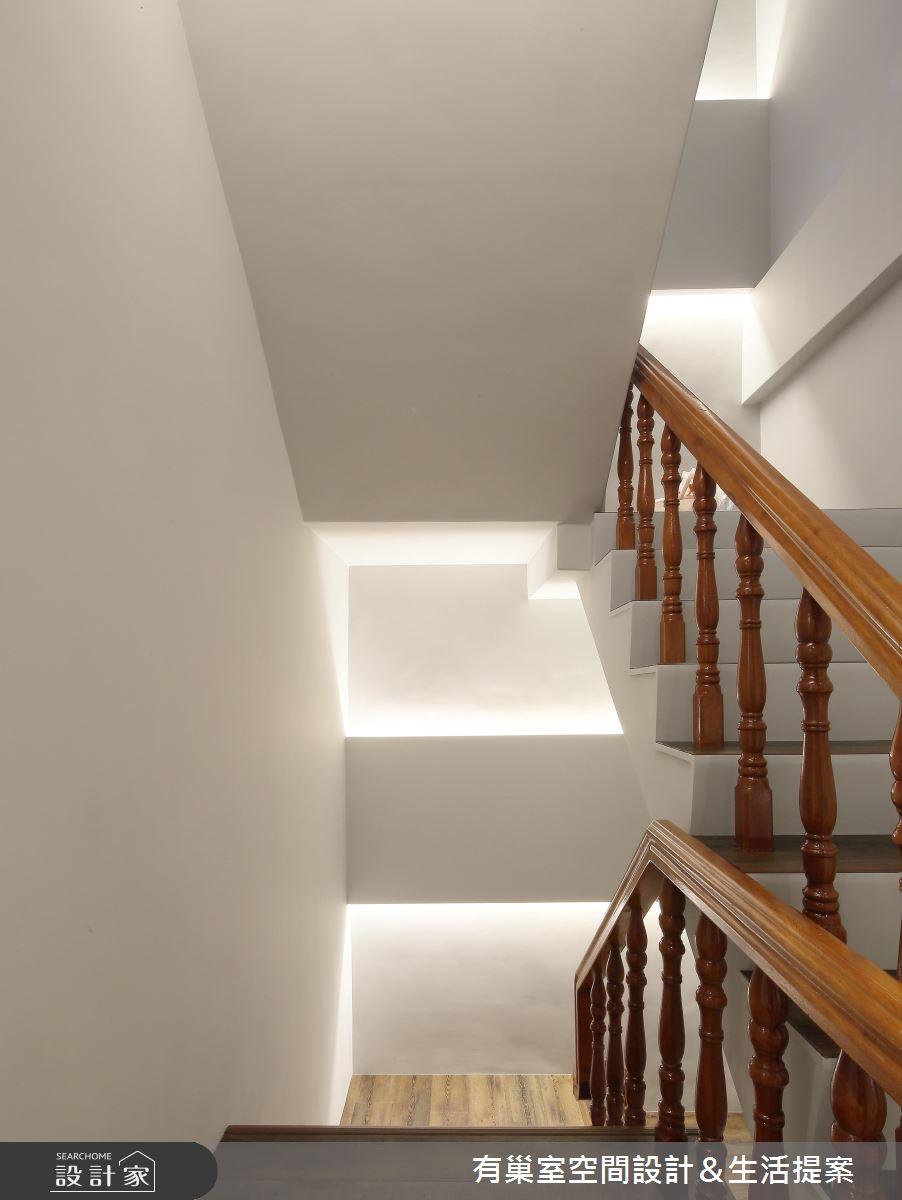 60坪老屋(16~30年)_人文禪風樓梯案例圖片_有巢室空間設計_有巢室_05之12
