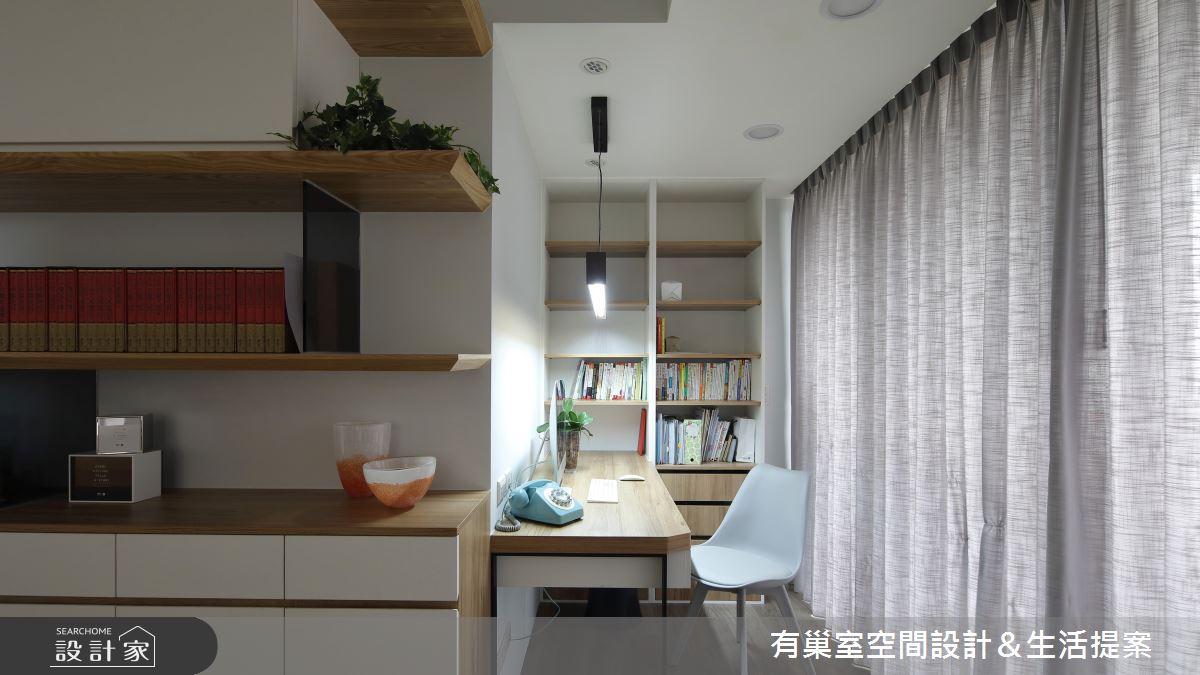98坪新成屋(5年以下)_混搭風書房案例圖片_有巢室空間設計_有巢室_06之5