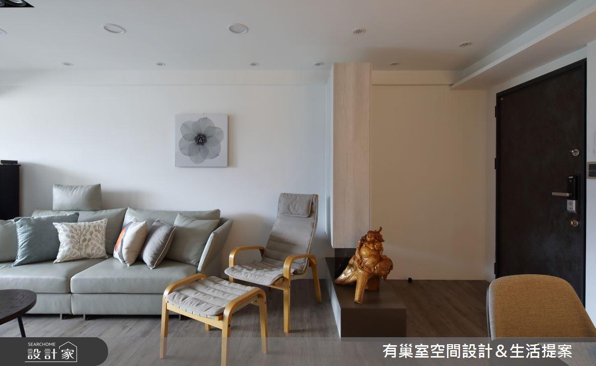 32坪老屋(16~30年)_簡約風客廳案例圖片_有巢室空間設計_有巢室_07之1