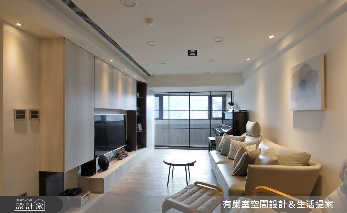 32坪老屋(16~30年)_簡約風客廳案例圖片_有巢室空間設計_有巢室_07之2