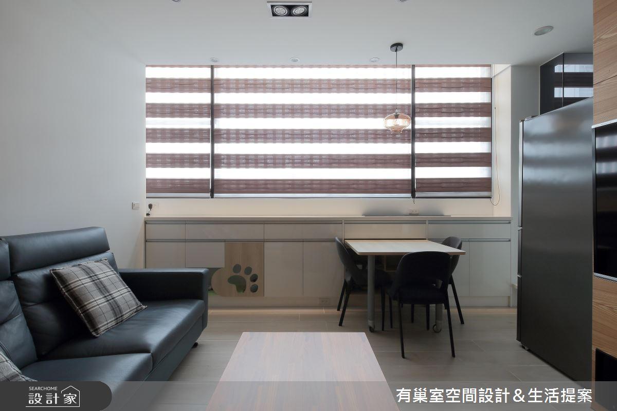 35坪老屋(16~30年)_現代風案例圖片_有巢室空間設計_有巢室_09之2