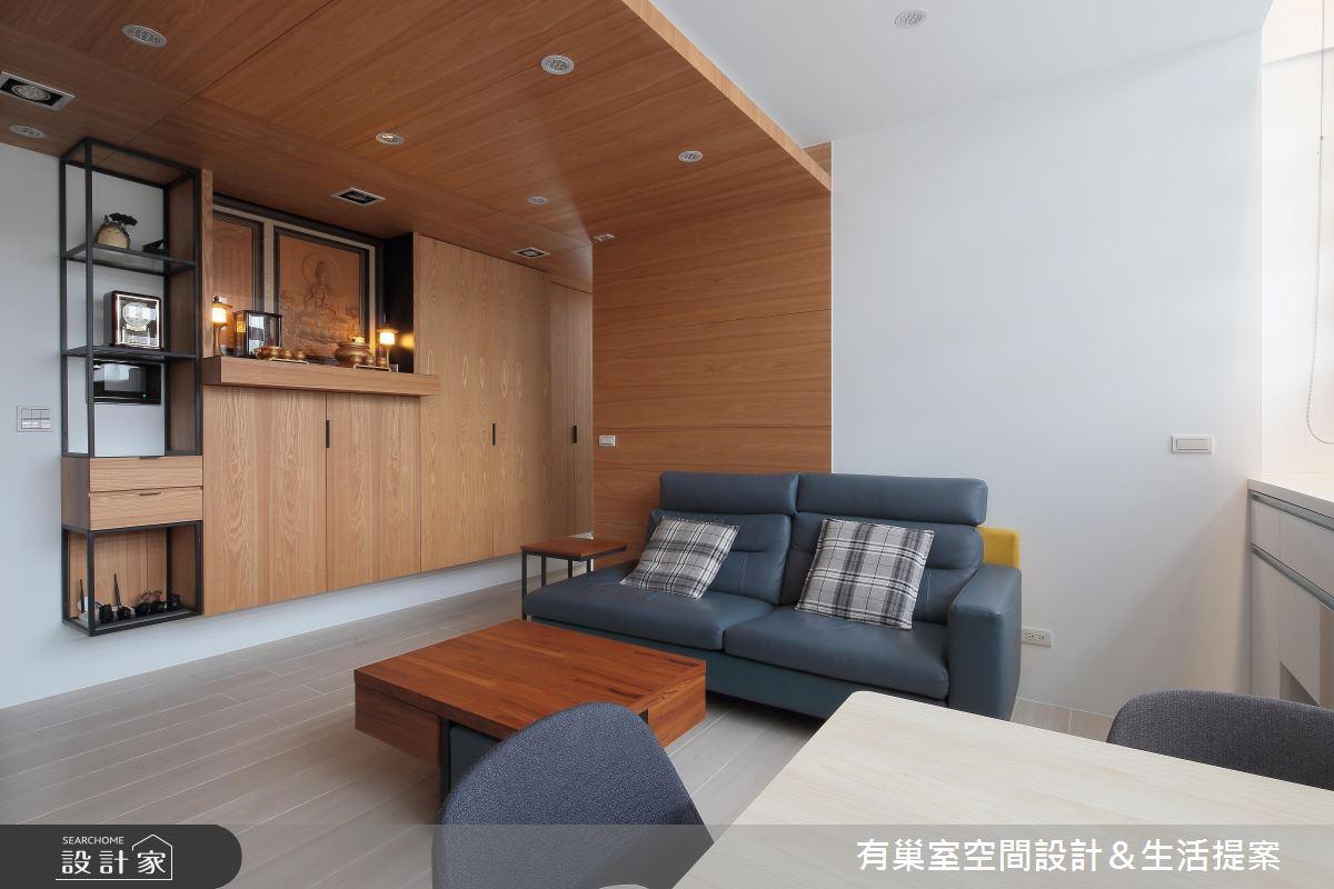 35坪老屋(16~30年)_現代風案例圖片_有巢室空間設計_有巢室_09之4