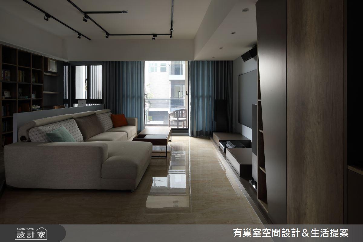 60坪老屋(16~30年)_簡約風案例圖片_有巢室空間設計_有巢室_10之3