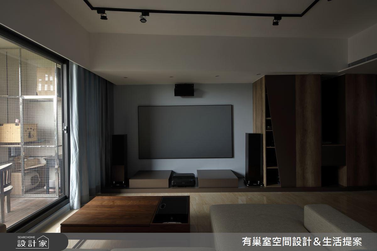 60坪老屋(16~30年)_簡約風案例圖片_有巢室空間設計_有巢室_10之4