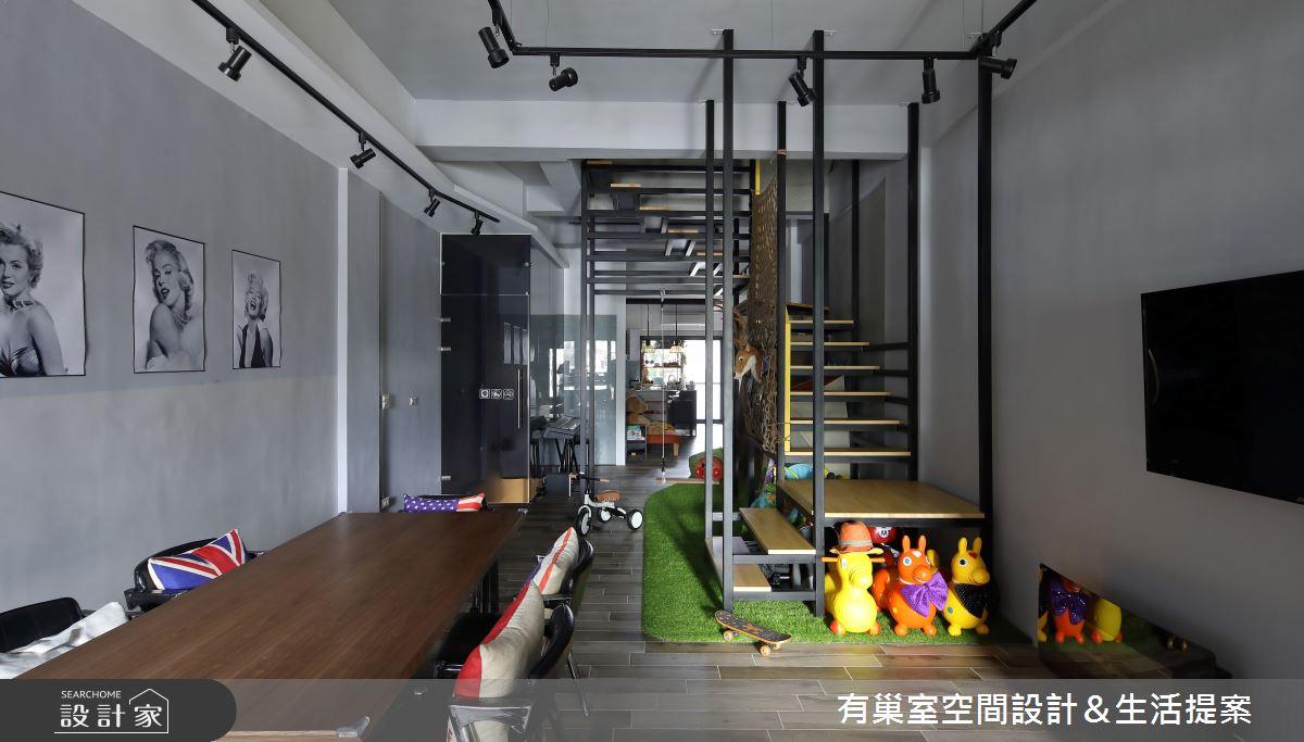 65坪老屋(16~30年)_工業風案例圖片_有巢室空間設計_有巢室_13之5