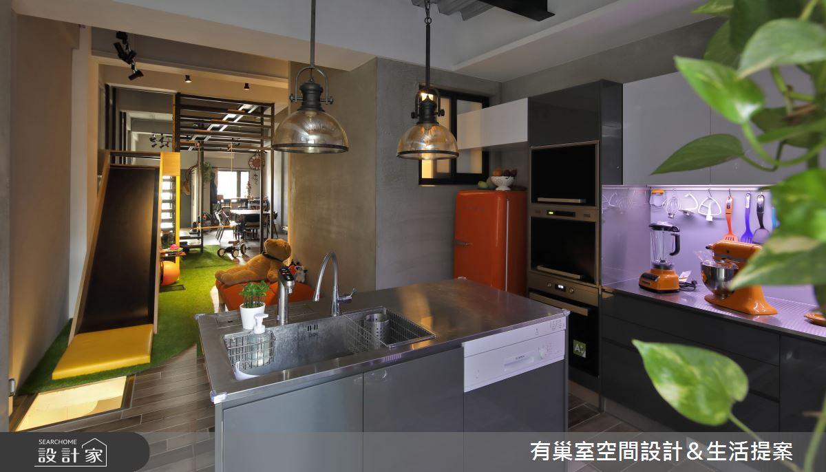 65坪老屋(16~30年)_工業風案例圖片_有巢室空間設計_有巢室_13之8