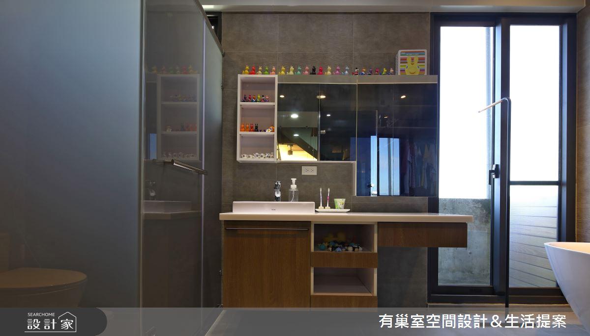 65坪老屋(16~30年)_工業風案例圖片_有巢室空間設計_有巢室_13之12
