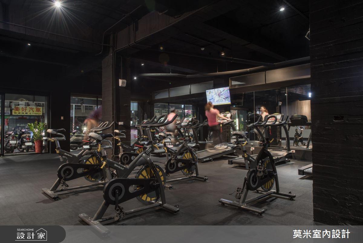 135坪中古屋(5~15年)_工業風商業空間案例圖片_莫米室內設計_莫米_鬥犬健身中心之3