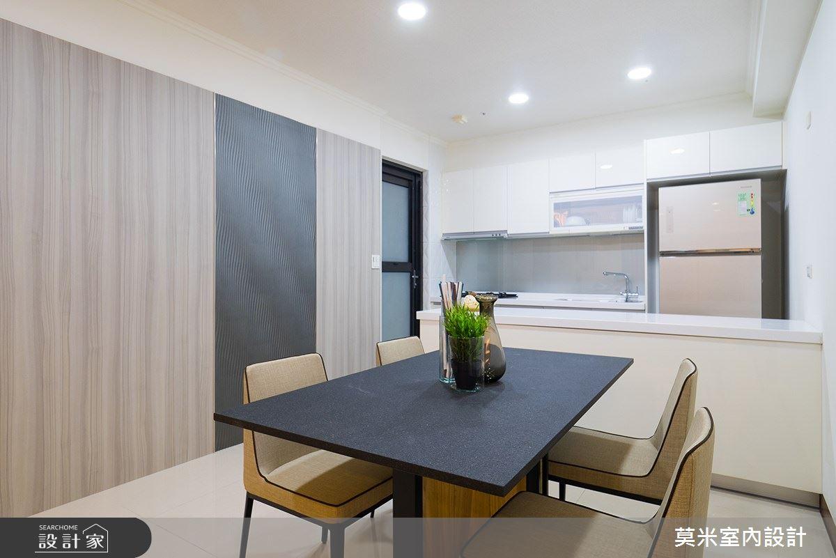 52坪新成屋(5年以下)_混搭風餐廳案例圖片_莫米室內設計_莫米_小清新之3