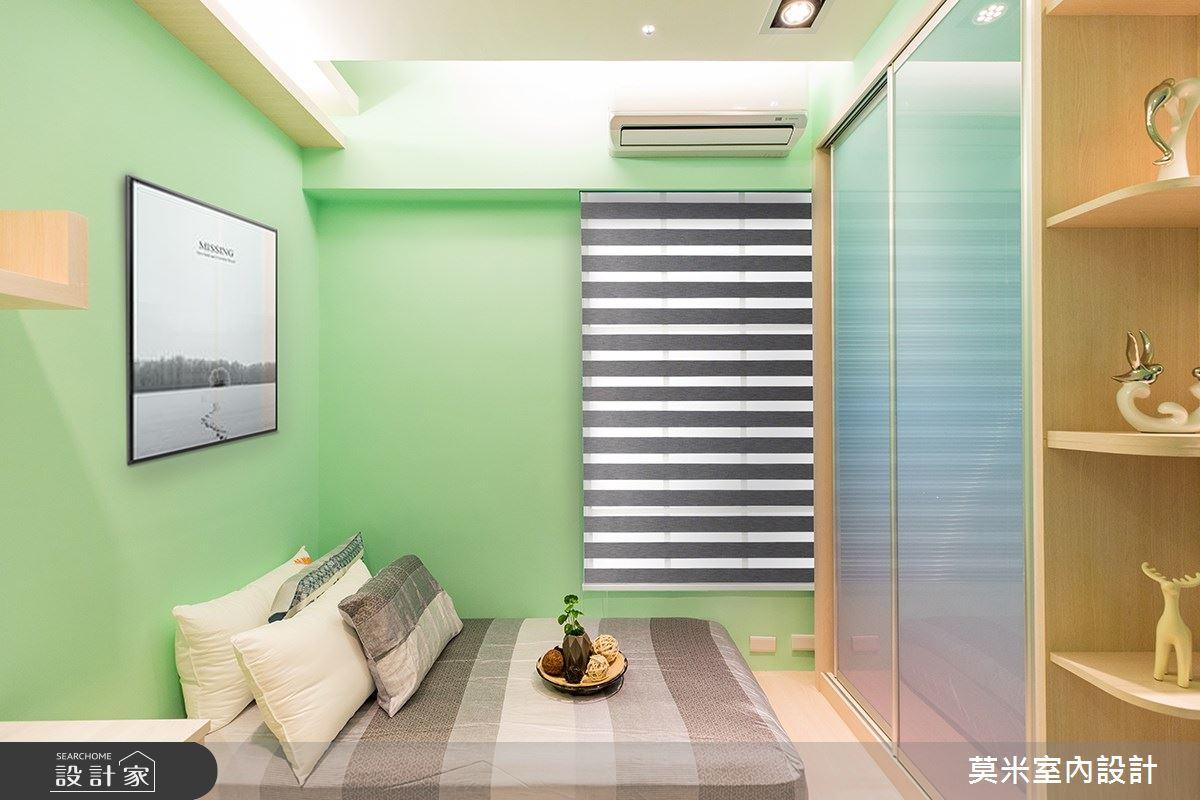 88坪新成屋(5年以下)_混搭風臥室案例圖片_莫米室內設計_莫米_R5郭公館之9