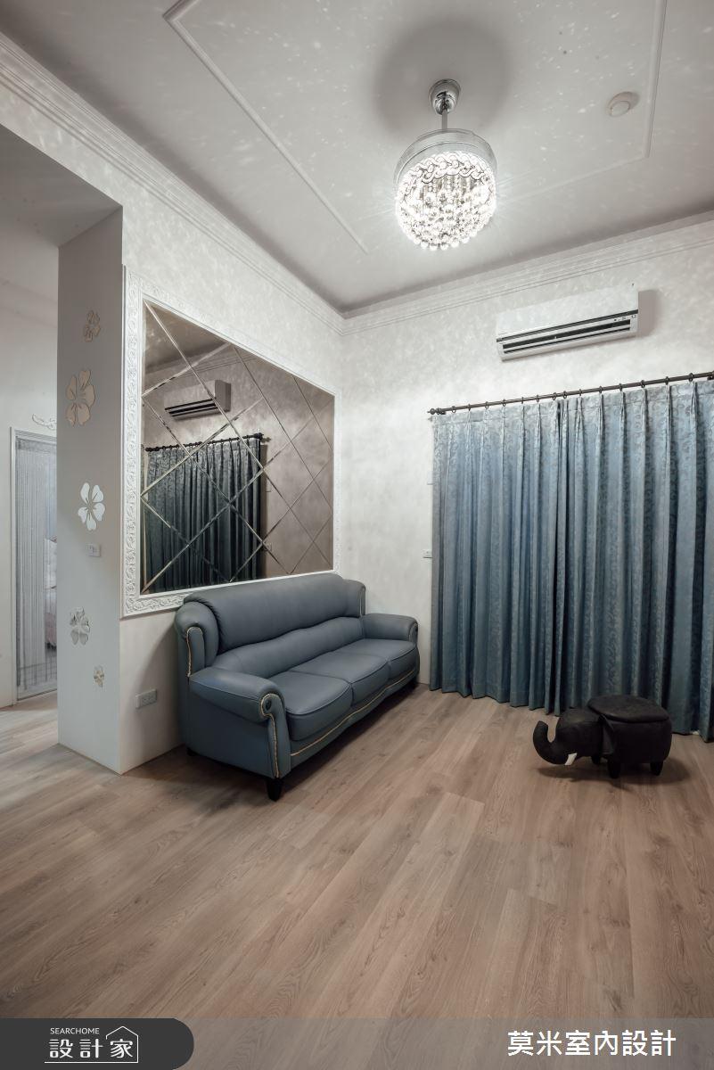 29坪中古屋(5~15年)_混搭風客廳案例圖片_莫米室內設計_莫米_典藏之4