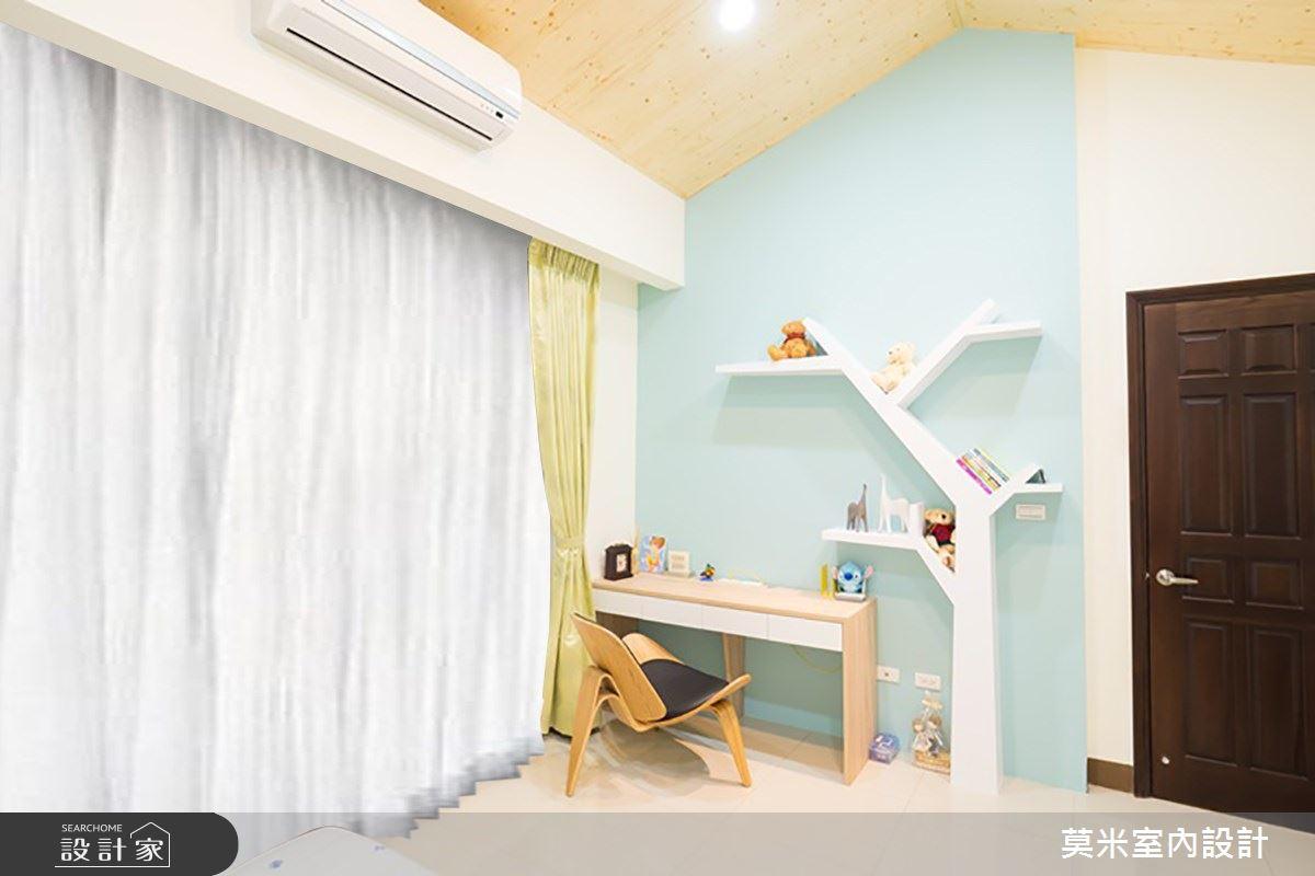 88坪新成屋(5年以下)_混搭風臥室案例圖片_莫米室內設計_莫米_延伸之9