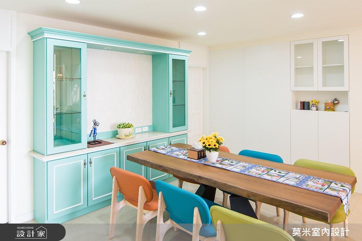 68坪新成屋(5年以下)_混搭風餐廳案例圖片_莫米室內設計_莫米_純真之4