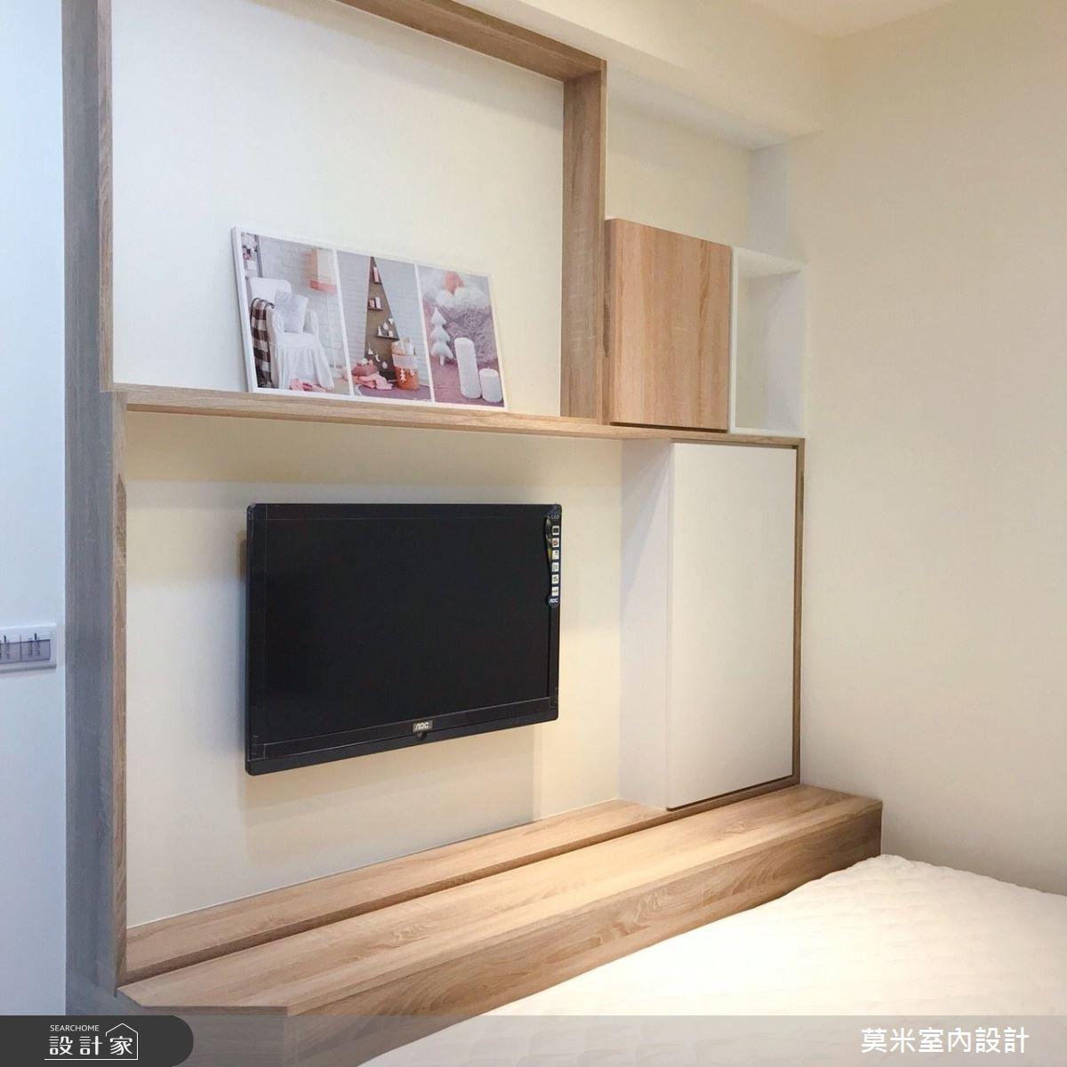 30坪老屋(16~30年)_混搭風臥室案例圖片_莫米室內設計_莫米_恬靜之12