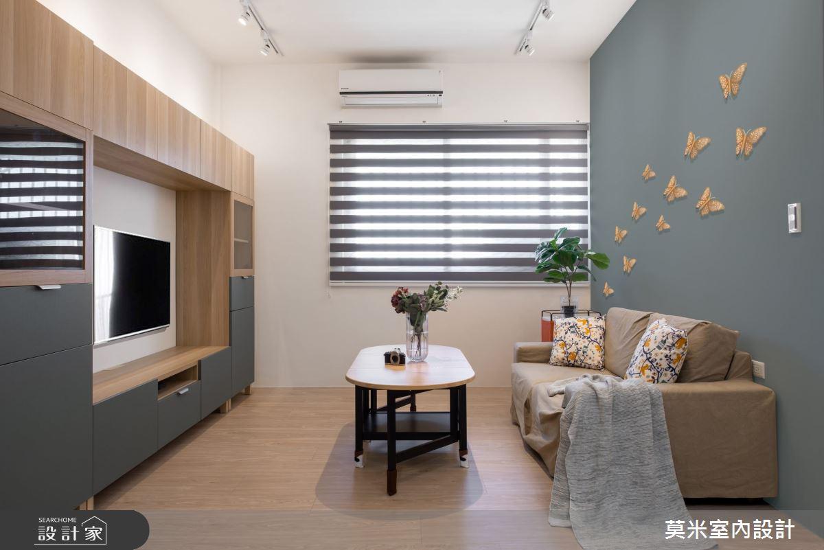 30坪老屋(16~30年)_混搭風客廳案例圖片_莫米室內設計_莫米_恬靜之9