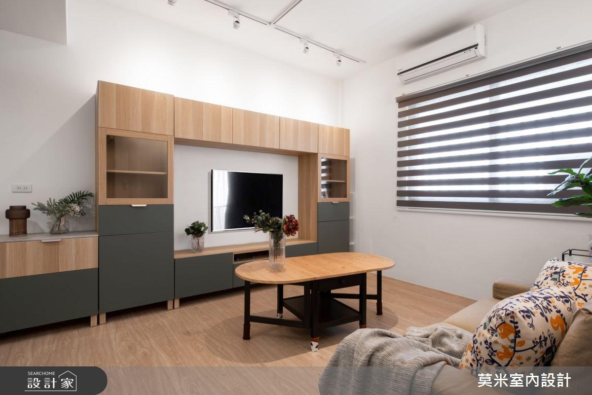 30坪老屋(16~30年)_混搭風客廳案例圖片_莫米室內設計_莫米_恬靜之10